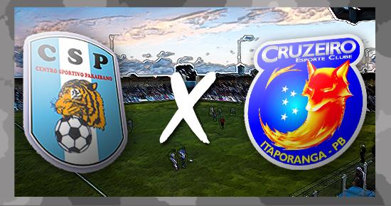 CSP massacra o Cruzeiro na Graça e é o terceiro colocado do Paraibano