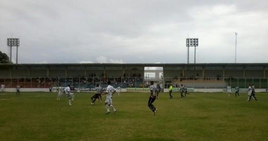 CSP e Treze empatam em jogo movimentado no estádio da Graça