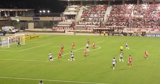 Em jogo eletrizante, Botafogo-PB empata com o CRB-AL e se mantém na vice-liderança