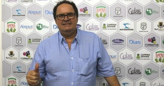 Robson Regis é o novo presidente do Conselho Deliberativo do Treze