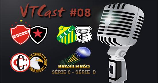 VT Cast #8 analisa os times paraibanos nas Séries C e D do Brasileiro