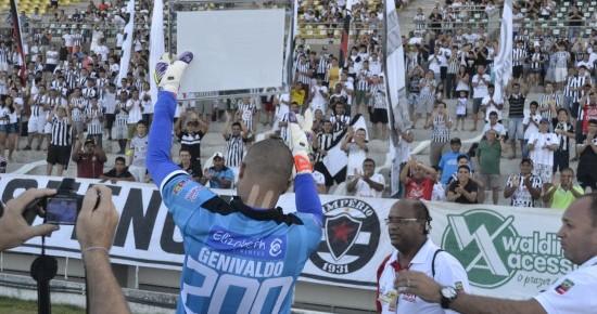 """Ídolo da torcida, """"Paredão"""" Genivaldo se despede do Botafogo-PB"""