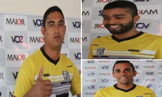 Treze anuncia três reforços com passagens pelo futebol de João Pessoa
