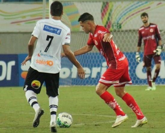 Botafogo-PB joga melhor, mas só empata com o América-RN na Arena das Dunas