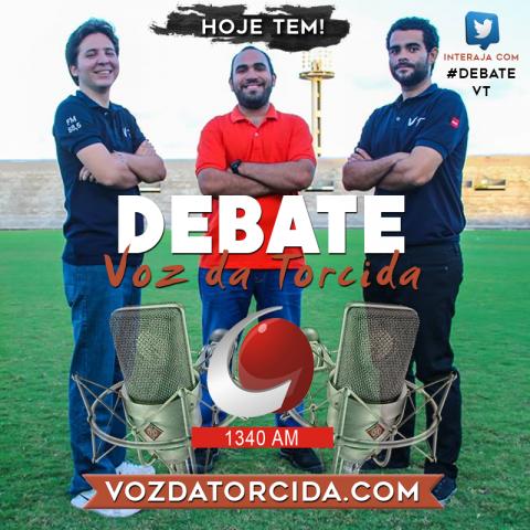 Debate Voz da Torcida #23 – Eliminação do Campinens e empate do Botafogo-PB