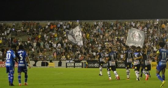 Botafogo-PB se impõe, vence o Palmeiras, mas é eliminado da Copa do Brasil