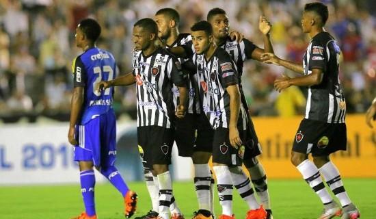 Jogadores exaltam triunfo do Botafogo-PB diante do Palmeiras, mas pregam foco na busca do acesso à Série B