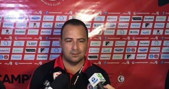 Presidente do Campinense anuncia demissão do treinador